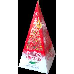 CHRISTMAS MAGIC červená svíčka L011