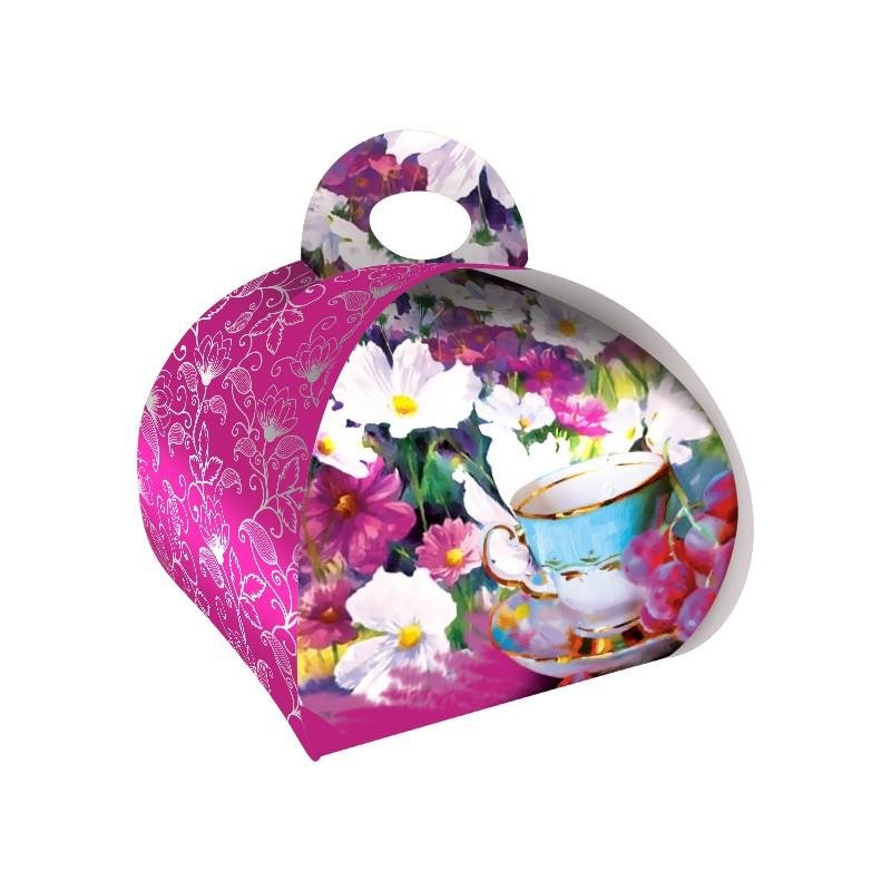 Dárková taštička růžová L52